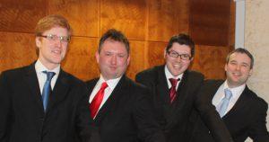 barbershop quartet hire UK