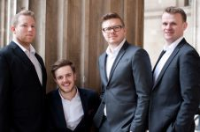 A cappella quartet hire UK