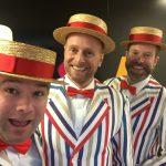 AKA Barbershop quartet hire