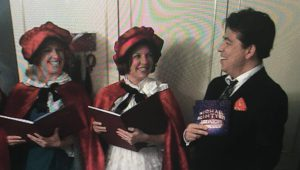 Hartley Voices Carol Singers on Michael McIntyre's Midnight Gameshow Christmas Special