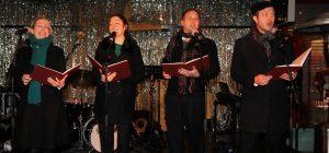 A cappella carol singers hire