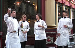 AKA Singing Waiters for Hire UK