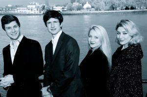 Four Voice A Cappella Quartet for Hire