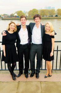 Four Voice Quartet for Hire