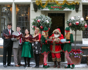 Christmas carol singers for Hire UK