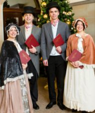 Hartley Voices Victorian Carol Singers for Hire