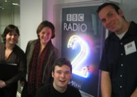 Radio 2 Studio Hartley Voices Singers for Hire London