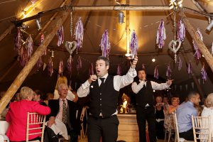 Singing Waiters Male Singers for Hire