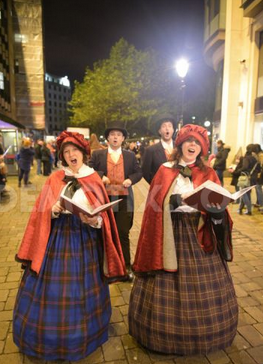 Victorian carollers hire uk