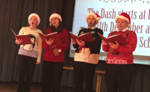 Carol Singers Charity Event Performance