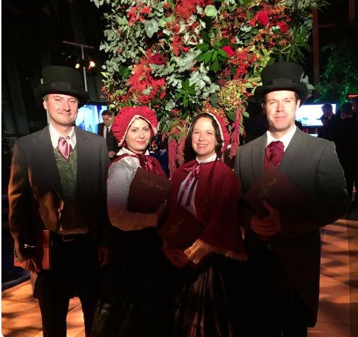 Dickensian Carol Singers Hire UK