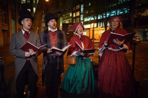 Karen Victorian Carol Singers Manchester